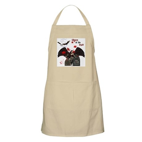 Queen Of The Night BBQ Apron
