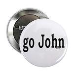 "go John 2.25"" Button (100 pack)"
