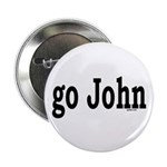 "go John 2.25"" Button (10 pack)"