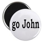 """go John 2.25"""" Magnet (100 pack)"""