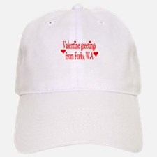 Valentine greetings from Fork Baseball Baseball Cap