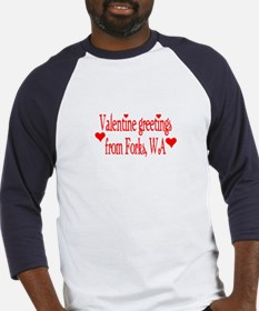 Valentine greetings from Fork Baseball Jersey