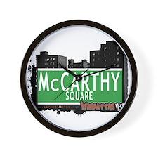 MCCARTHY SQUARE, MANHATTAN, NYC Wall Clock