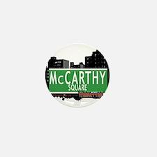 MCCARTHY SQUARE, MANHATTAN, NYC Mini Button