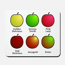 Apple Fan Mousepad