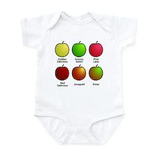 Apple Fan Infant Bodysuit