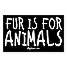 Fur Rectangle Decal