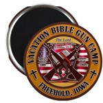 "Bible Gun Camp 2009 2.25"" Magnet (10 pack)"