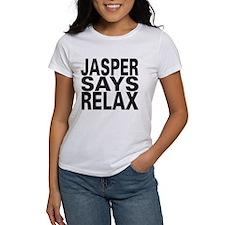 Jasper Says Relax Tee