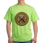 Bible Gun Camp 2009 Green T-Shirt