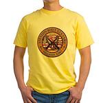 Bible Gun Camp 2009 Yellow T-Shirt