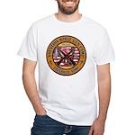 Bible Gun Camp 2009 White T-Shirt