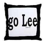 go Lee Throw Pillow