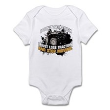 I DON'T GET STUCK Infant Bodysuit