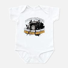 I DON'T GET STUCK Infant Bodysuit