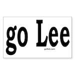 go Lee Rectangle Sticker