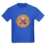 Bible Gun Camp 2009 Kids Dark T-Shirt