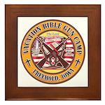 Bible Gun Camp 2009 Framed Tile