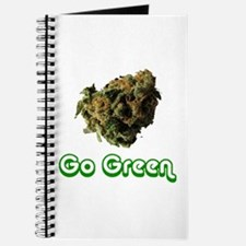 'Go Green' Journal