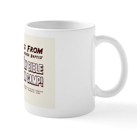 Bible Gun Camp Mug