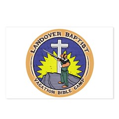 Bible Gun Camp Postcards (Package of 8)
