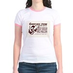 Bible Gun Camp Jr. Ringer T-Shirt