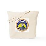 Bible Gun Camp Tote Bag