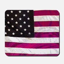 Folk Art American Flag Mousepad