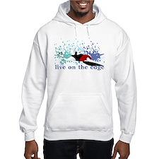Slalom WaterSkier Hoodie Sweatshirt