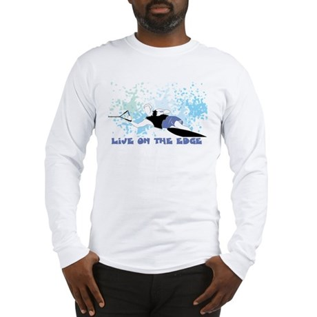 Live on the edge slalom Tee Long Sleeve T-Shirt