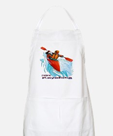 I'd Rather be Kayaking BBQ Apron