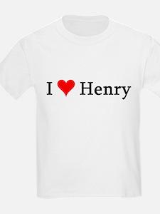 I Love Henry Kids T-Shirt