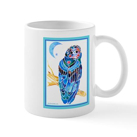 Whimsical Owl Mug