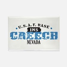 Creech Air Force Base Rectangle Magnet
