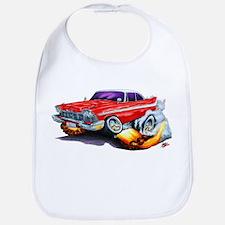 1958-59 Fury Red Car Bib