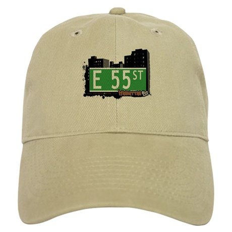 E 55 STREET, MANHATTAN, NYC Cap