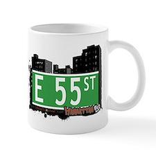 E 55 STREET, MANHATTAN, NYC Mug