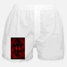 Gothic Ankh Boxers (Red)