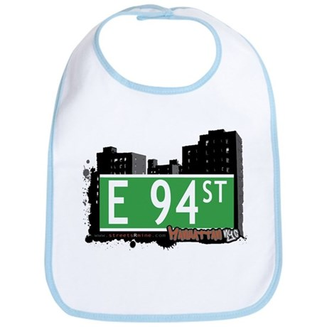 E 94 STREET, MANHATTAN, NYC Bib