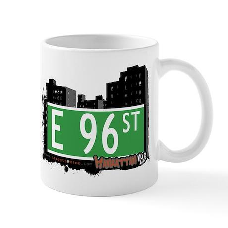 E 96 STREET, MANHATTAN, NYC Mug