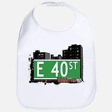 E 40 STREET, MANHATTAN, NYC Bib