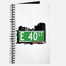 E 40 STREET, MANHATTAN, NYC Journal