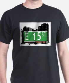 E 15 STREET, MANHATTAN, NYC T-Shirt