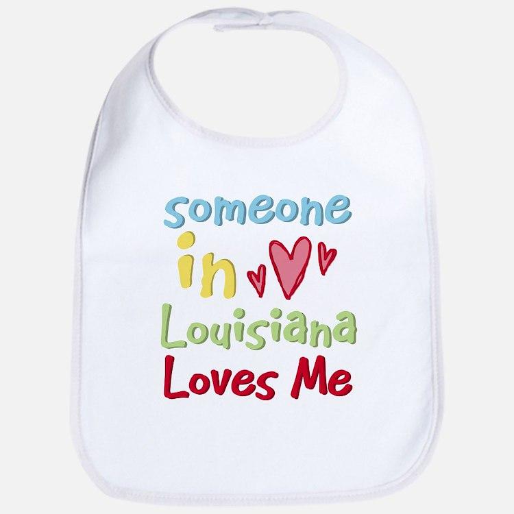 Someone in Louisiana Loves Me Bib