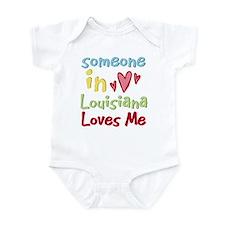 Someone in Louisiana Loves Me Infant Bodysuit