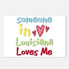 Someone in Louisiana Loves Me Postcards (Package o