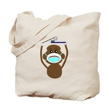 Sock Monkey Occupations Tote Bag