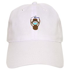 Sock Monkey Occupations Baseball Cap