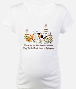 Pythagoras Vegetarian Quote Shirt