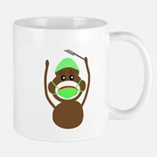 Sock Monkey Occupations Mug